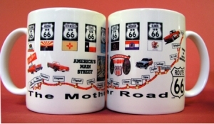 Coffee Mug Route 66