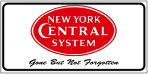 License Plate NYC Red Logo