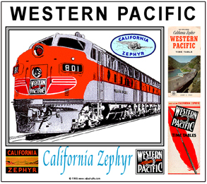 Mouse Pad Western Pacific CZ