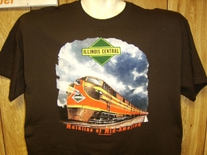 T-Shirt Illinois Central E-Unit