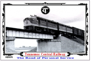 Tin Sign TC ALCO #803 on Bridge