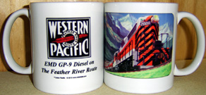 Coffee Mug Western Pacific GP9