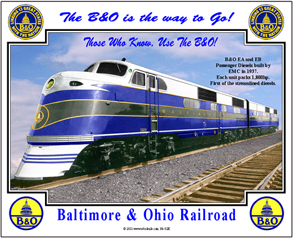 Tin Sign B&O EA-1 and EB-1