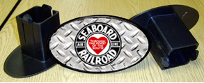 Hitch Cover Seaboard Logo