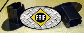 Hitch Cover ERIE Logo