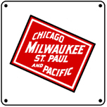 Milwaukee Logo 6x6 Tin Sign