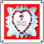 Chessie Doiley 6x6 Tin Sign