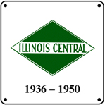 IC 36-50 Logo 6x6 Tin Sign