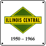 IC 50-66 Logo 6x6 Tin Sign