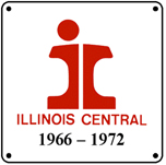 IC 66-72 Logo 6x6 Tin Sign