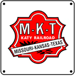Katy Red Logo 6x6 Tin Sign