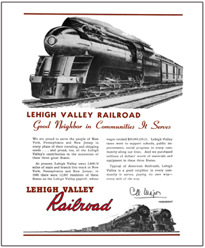 Tin Sign Lehigh Valley Good Neighbor