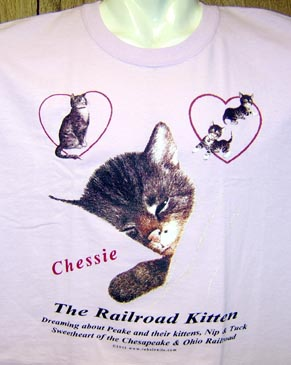 T-Shirt Chessie & Family PINK