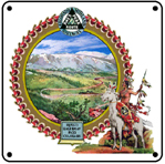 Colo Midland Hagerman 6x6 Tin Sign