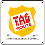 TAG Logo 6x6 Tin Sign