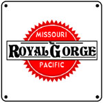 MoPac Royal Gorge 6x6 Tin Sign