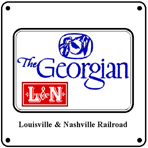 Georgian Logo 6x6 Tin Sign