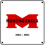 Monongahela Logo 6x6 Tin Sign
