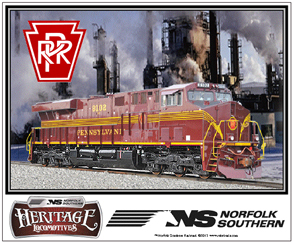 Mouse Pad PRR NS Heritage Diesel