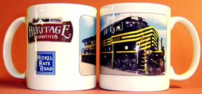 Coffee Mug NKP NS Heritage