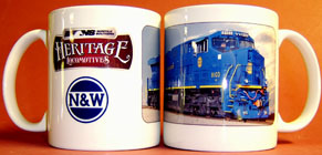 Coffee Mug N&W NS Heritage