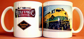Coffee Mug READING NS Heritage
