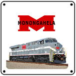 Monongahela Heritage 6x6 Tin Sign