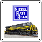 NKP Heritage 6x6 Tin Sign
