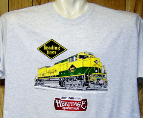 T-Shirt Reading NS Heritage