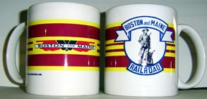 Coffee Mug B&M Logo