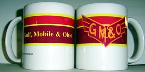 Coffee Mug GM&O Logo