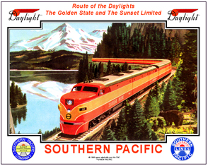 Tin Sign SP train w/Bears