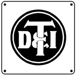 DT&I FORD 6x6 Tin Sign