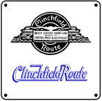 Clinchfield Steam Logo 6x6 Tin Sign