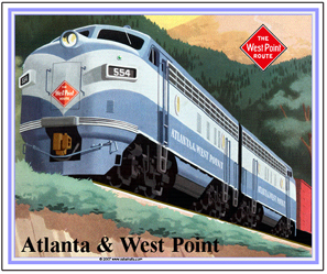 Mouse Pad West Point Route