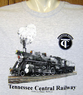T-Shirt Tennessee Central 551 Steam