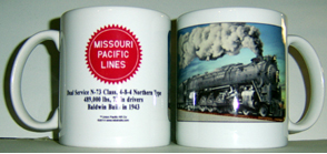 Coffee Mug MoPac N73 Class Steam