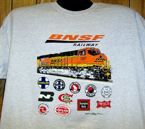 T-Shirt BNSF New Design