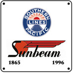 SP Sunbeam 6x6 Sign