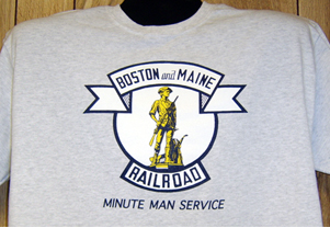 T-shirt Boston & Maine Logo