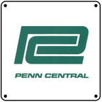 Penn Central Green Logo 6x6