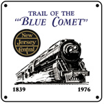Jersey Central Blue Comet 6x6 Ad