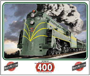 Mouse Pad C&NW Streamlined Steam