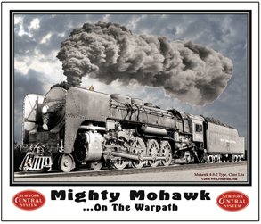 Mouse Pad NYC Mohawk Locomotive