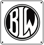 BLW Logo 6x6 Tin Sign