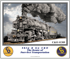Mouse Pad C&O 1309 steam