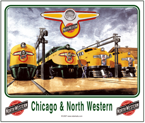 Mouse Pad C&NW diesel service