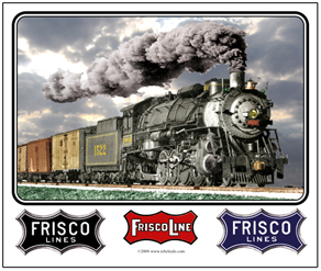 Mouse Pad Frisco 1522 Steam