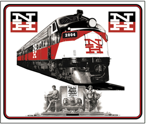 Mouse Pad NH FL-9 Diesel/Electric