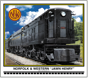Mouse Pad N&W Jawn Henry